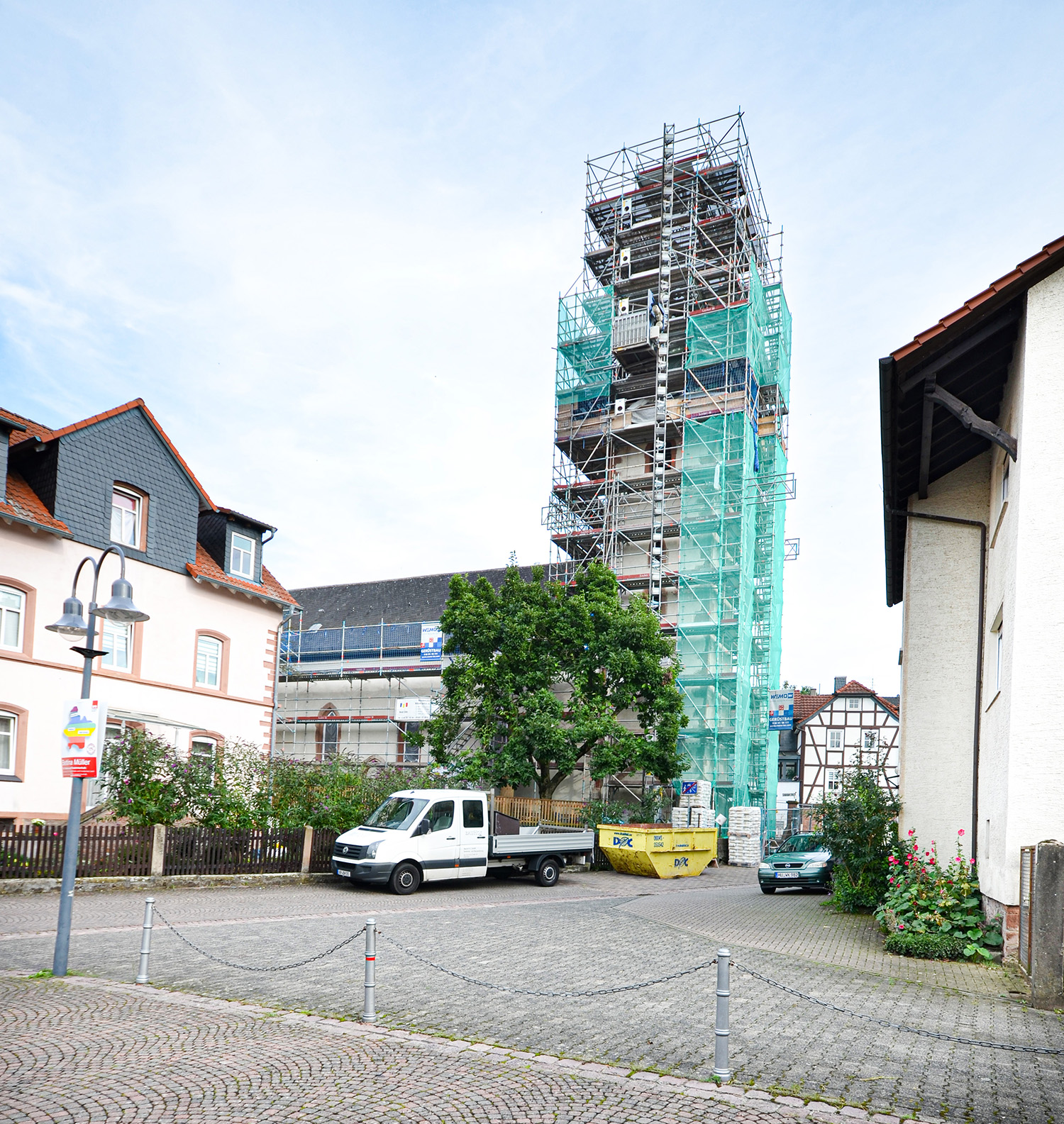 wemotec-referenzen-gerüstbau-kirche-aufenau